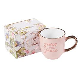 Mug - Grace Upon Grace, Pink