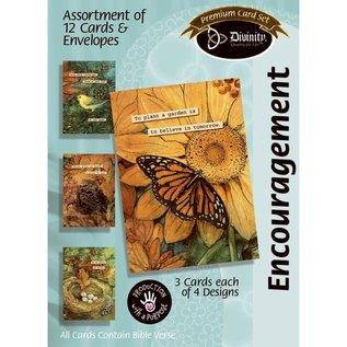 Boxed Cards - Encouragement, Woodland Birds