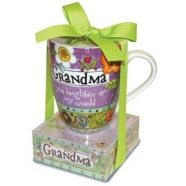 Mug and Notepad Set - Grandma