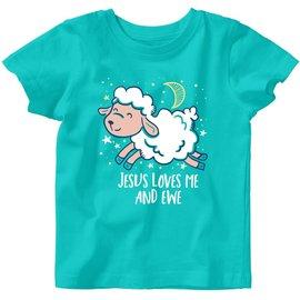 T-shirt - Jesus Loves Me and Ewe