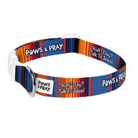 Paws & Pray Pet Collar, Ruff Day