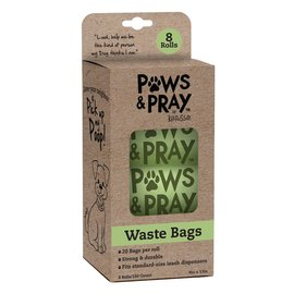 Paws & Pray Waste Bags, 8-pack Refill