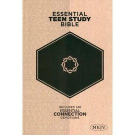 NKJV Essential Teen Bible Study Bible, Hardcover