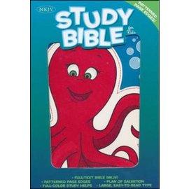NKJV Kids Study Bible, Octopus Leathersoft