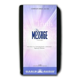 AudioBook - The Message Bible w/ Case (Eugene H. Peterson)