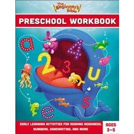 The Beginner's Bible Preschool Workbook, Paperback