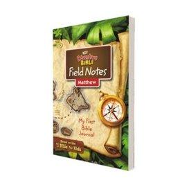 NIV Adventure Bible Field Notes: Matthew (My First Bible Journal)