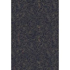 NIV Life Application Study Bible 3, Navy Floral Bonded Leather, Indexed