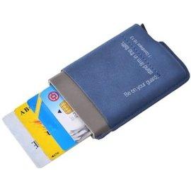 Men's Wallet - Man of God, Navy (RFID)