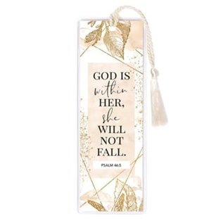 Bookmark - God is Within Her, Tassel