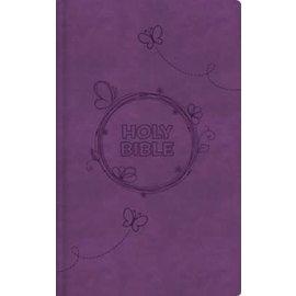 ICB Holy Bible, Purple Leathersoft