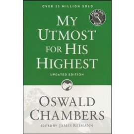 My Utmost for his Highest: Easy Print, Large Print (Oswald Chambers), Paperback