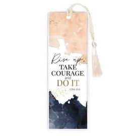 Bookmark - Rise Up , Tassel