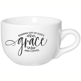 Mug - Running off God's Grace, Jumbo