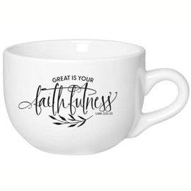 Mug - Great is Your Faithfulness, Jumbo