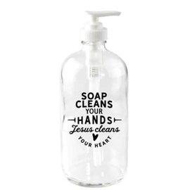 Soap Dispenser - Soap Cleans, Large