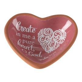 Terra Cotta Tray - Create in Me, Heart