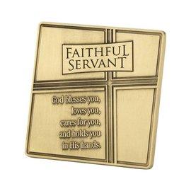 Tabletop Plaque - Faithful Servant