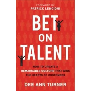 COMING SPRING 2021 Bet on Talent (Dee Ann Turner), Paperback