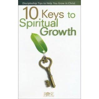 10 Keys to Spiritual Growth Pamphlet