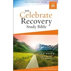 NIV Celebrate Recovery Study Bible, Paperback