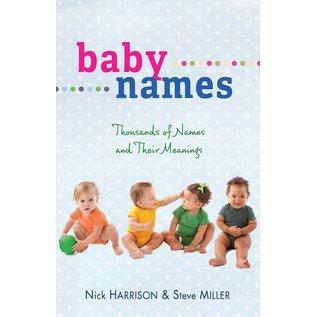 Baby Names (Nick Harrison & Steve Miller), Paperback