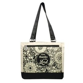 Tote Bag - Give Thanks to the Lord