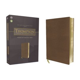 NASB 1977 Thompson Chain-Reference Bible, Brown Leathersoft