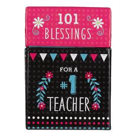 Box of Blessings - 101 Blessings for a #1 Teacher