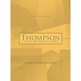 KJV Thompson Chain-Reference Bible, Hardcover