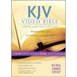 KJV Video Bible: Audio and Text on DVD (Stephen Johnston)