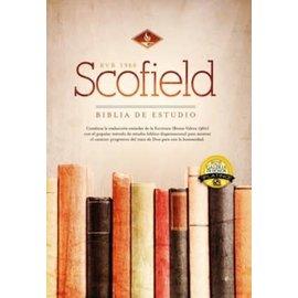 RVR 1960 Scofield Biblia de Estudio, Piel Fabricada Negra