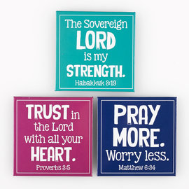 Magnet Set - The Lord is my Strength, Set of 3