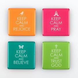 Magnet Set - Keep Calm, Set of 4