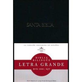 RVR 1960/KJV Letra Grande Bilingue Biblia (Large Print Bilingual Bible), Hardcover