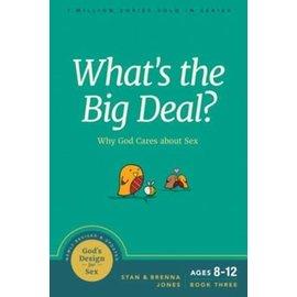 God's Design for Sex #3: What's the Big Deal? (Stan & Brenna Jones), Paperback