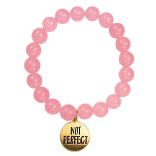 Bracelet - Faith Gear, Not Perfect Just Forgiven (Pink)