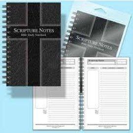 Journal - Scripture Notes, Black
