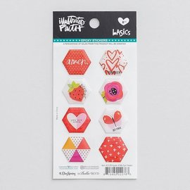 Stickers - Apple of My Eye, Hexies
