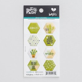 Stickers - Olive You, Hexies