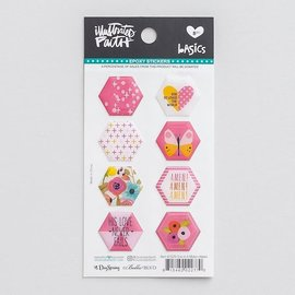 Stickers - One in a Melon, Hexies
