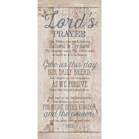 Plaque - Lord's Prayer, Wood