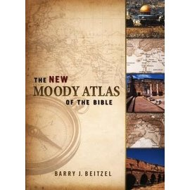 The New Moody Atlas Of The Bible (Barry J. Beitzel), Hardcover