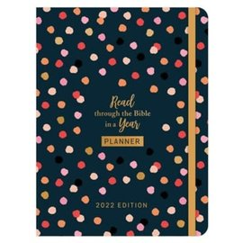 Planner - Read Through the Bible in a Year, 2022 Edition