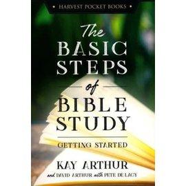 The Basic Steps of Bible Study (Kay Arthur), Paperback