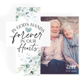 Photo Frame Cross - In God's Hands
