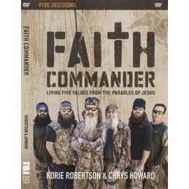 DVD - Faith Commander (Five Sessions)