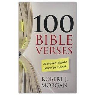100 Bible Verses Everyone Should Know By Heart (Robert J. Morgan), Paperback