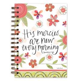Journal - His Mercies are New, Wirebound