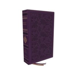 KJV Personal Size Sovereign Collection Bible, Purple Leathersoft, Indexed